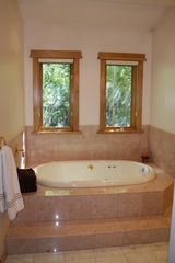 Sundance cabin photo - Master bathroom's jetted tub.