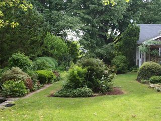 Middletown house photo - Back Yard Gardens. Privacy and Space.