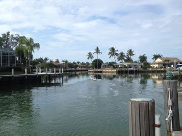 Vacation Homes in Marco Island house rental - fish from the private dock