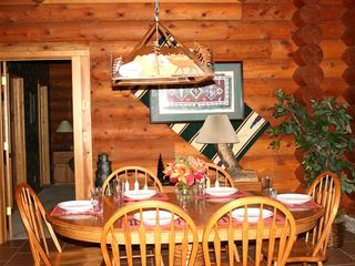 Big Sky cabin photo - High Altitude Property Management - Dinning Area