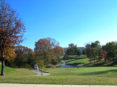 Branson condo rental - Golf at the Pointe-The Pointe Royale Golf Course. Only a block to the club house
