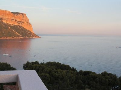 Cassis apartment rental - Cap Canaille from terrasse