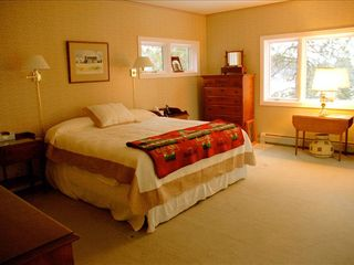 Durango house photo - Master Bedroom (king bed) with private jacuzzi bath, walk in closet, and deck