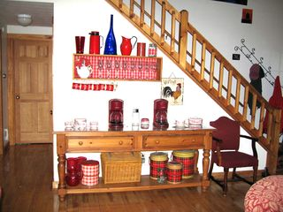 Peaks Island house photo - Buffet area for coffee, tea and group serving!