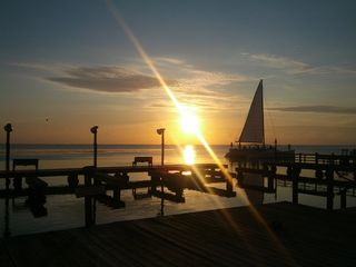 South Padre Island condo photo - Sunset from the Fishing Pier