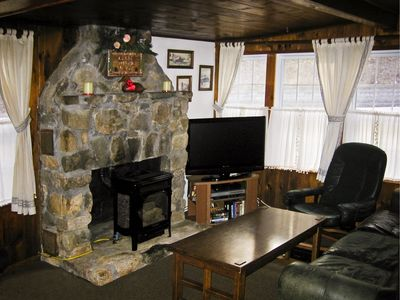 Living Room in Ranch House