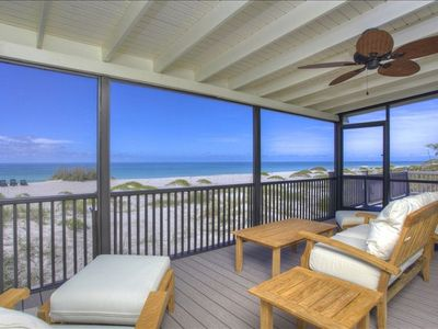 step out the back door onto your own private beach