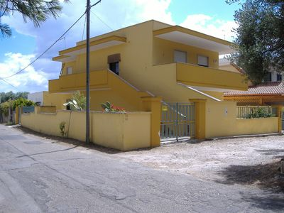 villa on the ground floor with a large garden with garden indipendenteCasa