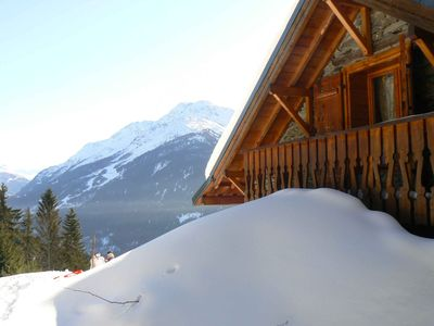 Complete cottage on 5000m, 1500m above sea level, halfway La Rosiere and Seez