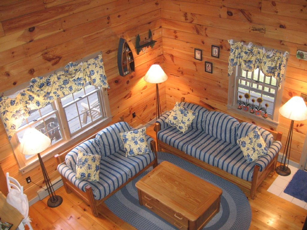 Cozy Log Cabin A Perfect Summer Vacation Vrbo