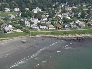 Newport house photo - Aerial photo from the beach