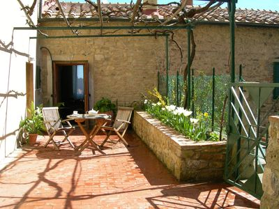 Montecastelli apartment rental - Antique house with Terrace