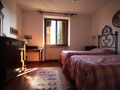 Castelnuovo Berardenga chateau / country house rental - La nostra twin bedroom