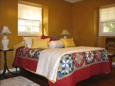 Guest Bedroom with Queen Size Bed