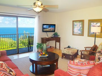 Princeville condo rental - Your view!