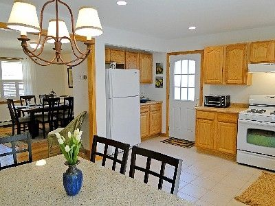 Bright kitchen with all new appliances