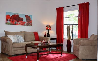 Tuscany At Westside villa rental - Formal lounge area.