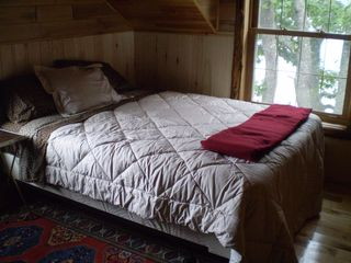 Lake Medora cottage photo - 2nd BR - new queen bed
