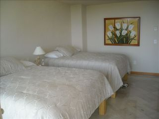 Nuevo Vallarta condo photo - Third bedroom with two queen sized beds