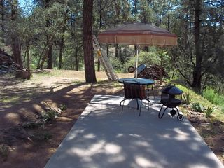 Prescott studio photo - Back yard extended patio area.