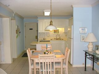Fort Morgan condo photo - An all new kitchen and nice dining area!