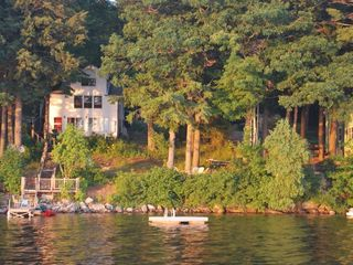 Windham cottage photo - View of the cottage from the lake.