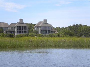 View of the house from the Marsh and Creek