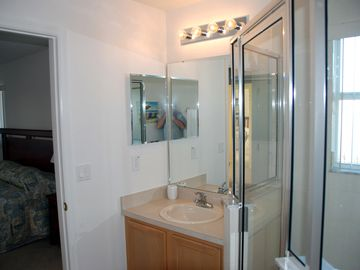 Master Suite 2 - En-suite shower room, basin & WC
