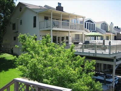 Montgomery townhome rental - View From the Lake