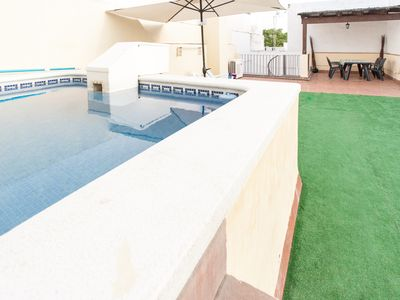 Duplex with private pool and large terrace in the center of Seville.