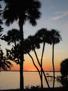 Sunset On The Indian River