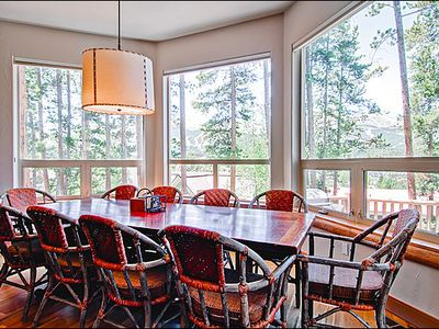 Seating for 10 at the Dining Room Table