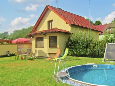 Beautiful house with pool in historic surroundings of Tyn nad Vltavou