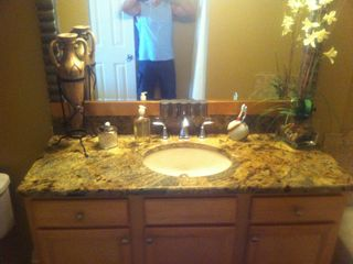 Cape Canaveral condo photo - Master Bathroom with Seperate tub and Shower