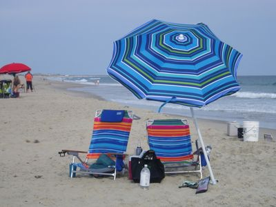 Hatteras cabin rental - Our beach