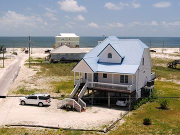 Dauphin Island house rental - 4 br Beachside Home - 4 houses back from Gulf!