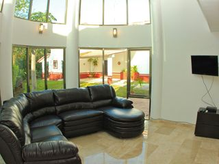 Playa del Carmen villa photo - Living Room at Casa Aves