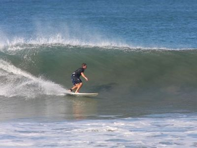 Great surf this year . Playa Guiones