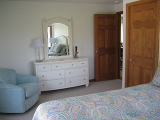 Moody Beach house photo - Other Side of Queen Bedroom - Each Bedroom Has Auto-Lighted Double Closets