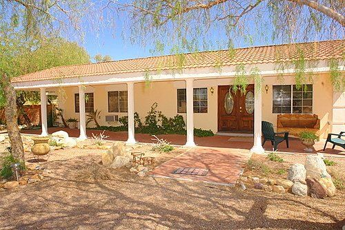 Authentic hacienda style 5bed 3bath homeaway for Hacienda ranch style homes