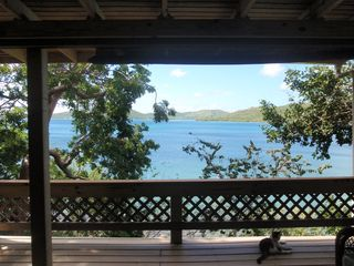 Culebra cottage photo - View from balcony / deck