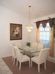 Briarwood Naples house photo - dining area in this holiday villa