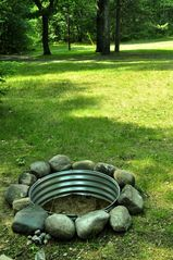 Atlanta lodge photo - New Fire Pit