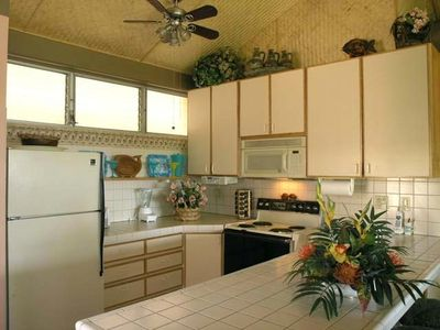 Kitchen  A Gourmet Delight !   Refrigerator w/ice maker, well supplied