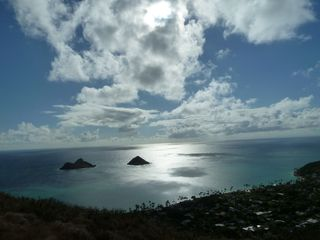Kailua studio photo - This view is from a hike just minutes from the studio