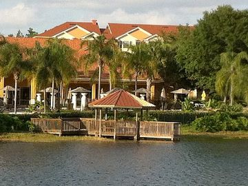 Resort and Gazebo view from lake