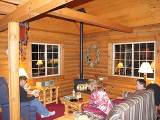 Wisconsin Dells cabin photo - evening atmosphere