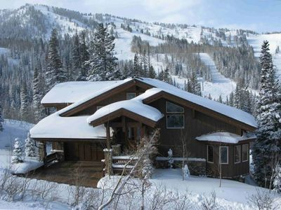 Large custom home in Solitude Mountain Resort