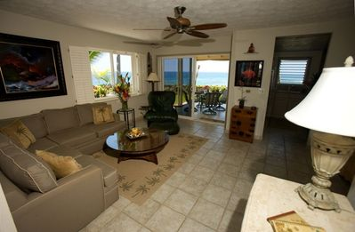 Keauhou townhome rental - Living Room