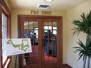 Full service pro shop on site